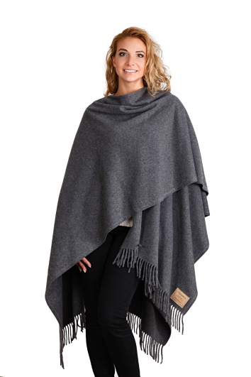cape poncho aus feiner wolle in 24 farben. Black Bedroom Furniture Sets. Home Design Ideas